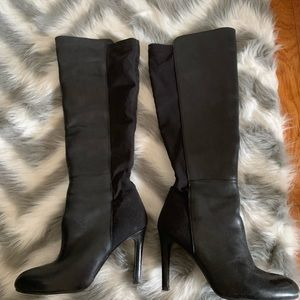 vince camuto heeled boots in black size 7